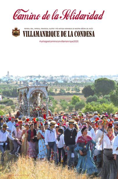 """La Hermandad de Villamanrique de la Condesa hará """"un camino virtual"""" a El Rocío con fines solidarios"""