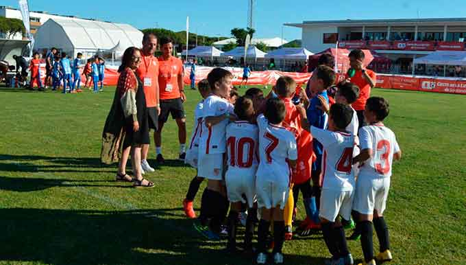 Nueva fecha para el Torneo Internacional de Fútbol Base 'Costa de la Luz Cup Santander' de Punta Umbría.