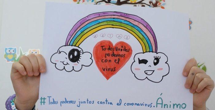 El Consejo Local infantil de Huelva promueve una campaña informativa para niños sobre el coronavirus