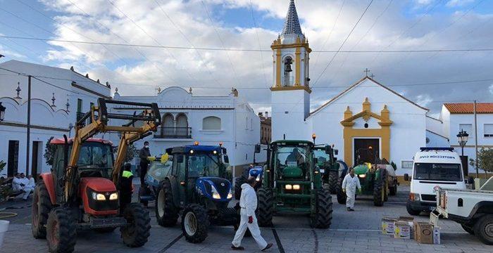 San Bartolomé de la Torre sigue en su lucha contra el Covid-19