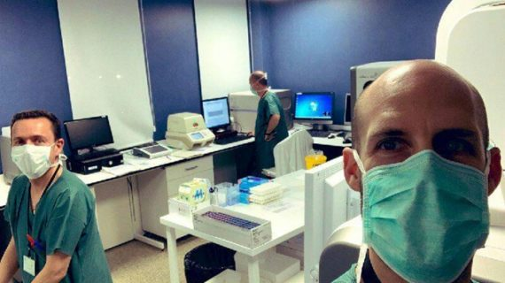 Investigadores de la UHU se ofrecen para la realización de pruebas del coronavirus