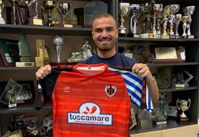 José Díaz seguirá una temporada más en el Cartaya. / Foto: @AD_Cartaya.