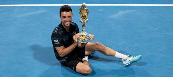 Roberto Bautista, una de las primera raquetas del tenis nacional, jugará la 95 Copa del Rey de Tenis.