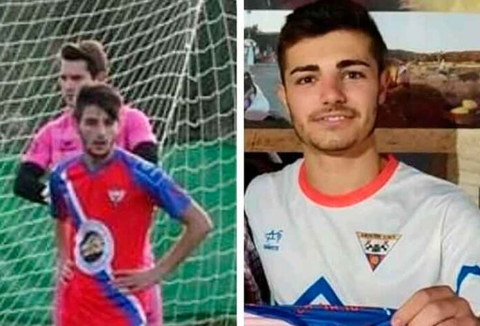 Alán y Antonio Pablos, dos jóvenes emergentes en el fútbol serrano, seguirán en el Aroche. / Foto: @arochecf.