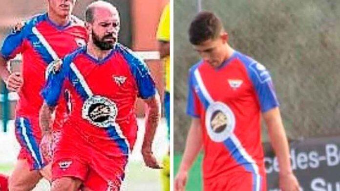 Manuel María y Cecilio continuarán en el Aroche una temporada más según confirmó el club serrano. / Foto: @arochecf.