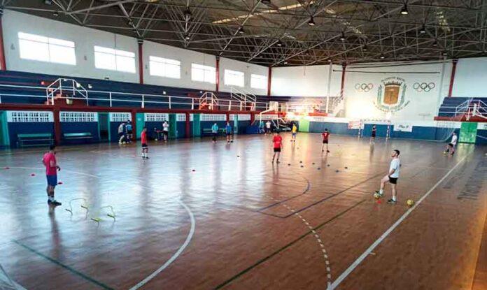 El equipo bollullero lleva preparando el play-off de ascenso dede el pasado 3 de junio. / Foto: @BollullosFutsal.
