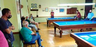 Un total de 22 jugadores tomaron parte en el torneo de billar celebrado en Corrales.