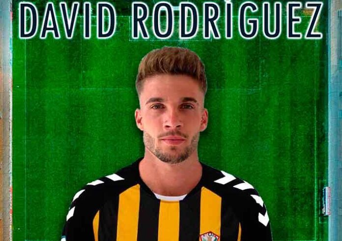 David Rodríguez, nuevo jugador del San Roque de Lepe para la temporada 2020-21. / Foto: @SanRoqueLepe.