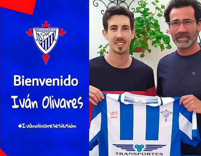 Iván Olivares, procedente del Ayamonte, segundo fichaje que confirma el Bollullos. / Foto: @bollulloscf1933.