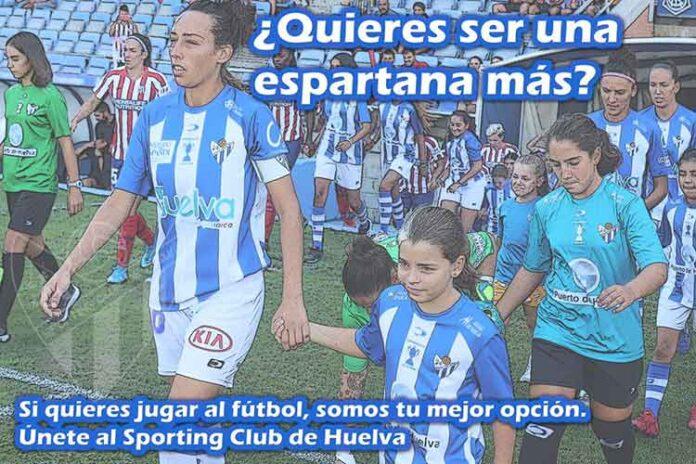Nuevo llamamiento del Sporting de Huelva para captar jugadoras. / Foto: @sportinghuelva.
