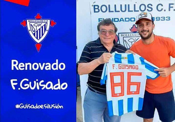 La renovación de Fernando Guisado, confirmada por el Bollullos. / Foto: @bollulloscf1933.