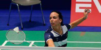 """Haideé Ojeda se mostró """"muy contenta"""" por esta convocatoria con el equipo nacional. / Foto: Badminton Europe."""