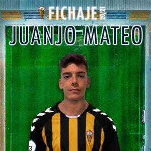 Juanjo Mateo, nuevo jugador del San Roque de Lepe. / Foto: @SanRoqueLepe.