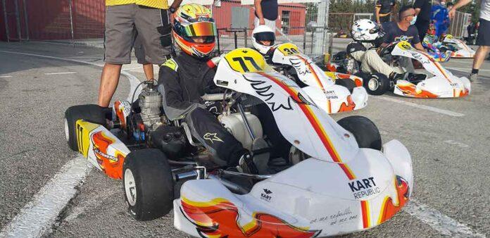 Cisneros se sobrepuso a los imponderables de los daños en su monoplaza y acabó segundo en Campillos.