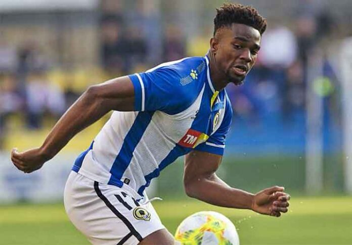 Moha Traoré tiene experiencia en Segunda A y Segunda B y llega del Hércules donde jugó la temporada anterior. / Foto: www.diarioinformacion.com.