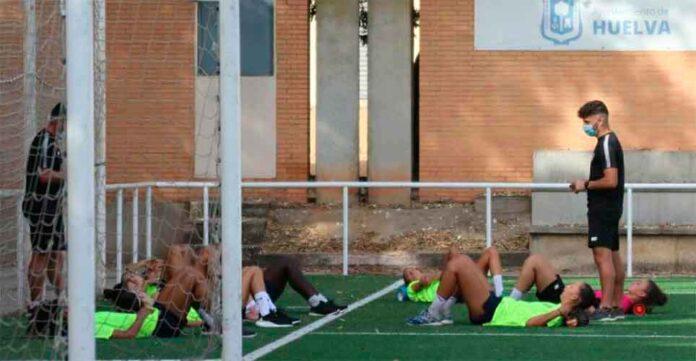 El equipo sportinguista ya ha cumplido una semana de trabajo / Foto: @sportinghuelva.