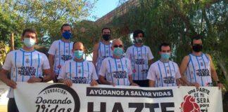 Los integrantes de 'La Ruta de las Maravillas de Huelva' ya han entregado más de 4.000 carnés de donantes desde 2017.