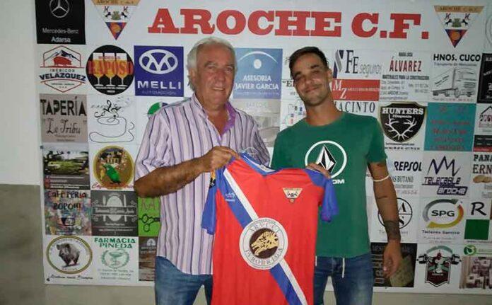 Antonio Souto potenciará el ataque del Aroche en la campaña 2020-21. / Foto: @arochecf.