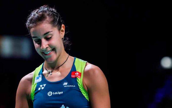Carolina Marín no tuvo problemas en su debut en el SaarLorLux Open 2020 de bádminton. / Foto: Badminton Photo.
