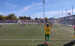 El Cartaya tuvo que remontar en dos ocasiones un marcador adverso en Montilla. / Foto: @JLGalvez25.
