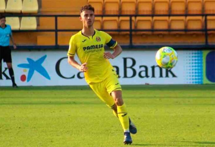 Leal, en el filial amarillo, disputó 24 partidos y más de 2.000 minutos antes del parón de esta pasada temporada. / Foto: www.castelloninformacion.com.