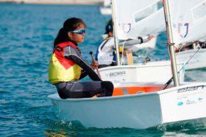 María Castillo acabó séptima en Portoroz tras ganar dos pruebas en su grupo y hacer, además, un 2º, un 13º, un 7º y un 11º.