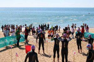 Alrededor de 400 triatletas se dieron cita en el III Triatlón DoubleTree by Hilton Islantilla Beach Golf Resort.