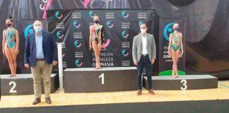 Avril Arteaga se colgó la medalla de oro en su ejercicio con aro.