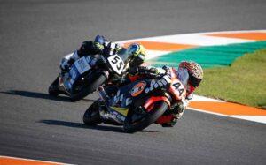 Fin de semana de infortunio para Hugo Millán en el circuito Ricardo Tormo de Valencia.