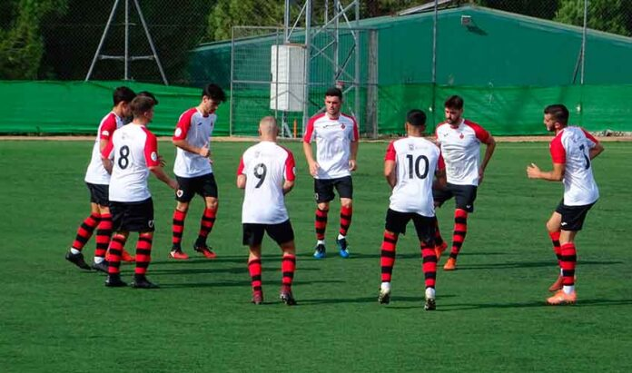 El Cartaya espera mantener el ritmo y seguir una semana más como líder del grupo. / Foto: Sergio Lobo.