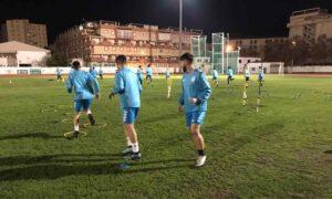 El Isla Cristina ha preparado a fondo su partido del domingo con el Atlético Espeleño. / Foto: @islacristinafc.