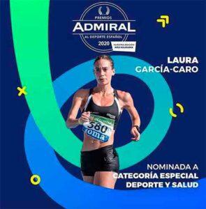 La marchadora de Lepe ha sido nominada a los Premios Admiral al Deporte Español 2020.