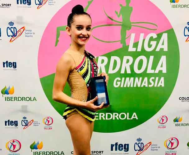 Yolanda López subió al podio en la categoría Infantil por autonomías para colgarse ese bronce.