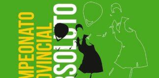 Cartel anunciador del torneo de bádminton que se celebra en Moguer.