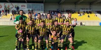 El San Roque, dispuesto a ganar el primer partido de la segunda fase. / Foto: @SanRoqueLepe.