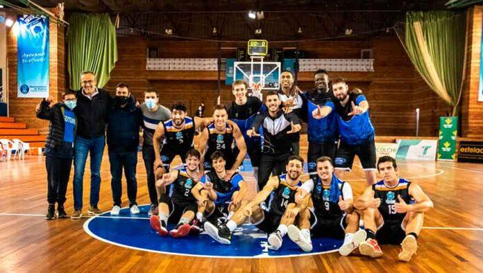 El Huelva Comercio no tuvo problemas para derrotar en el Andrés Estrada al Gymnástica Portuense. / Foto: C. Verdier.