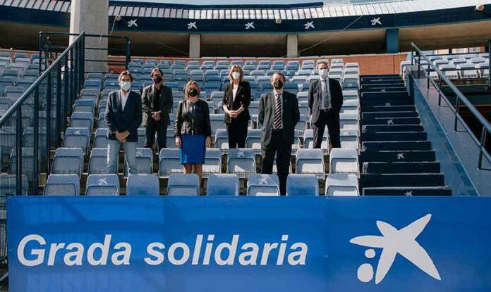 Con la renovación del compromiso se quiere reactivar la Grada Solidaria Fundación 'la Caixa', interrumpida por la pandemia.