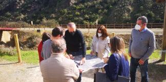 Invierten 30.000 euros en la mejora del Camino Natural del Río Tinto
