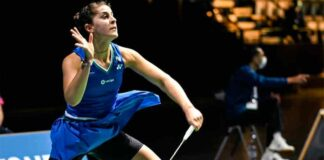 Carolina Marín jugará este domingo la final del Abierto de Suiza de bádminton ante ante P. V. Sindhu. / Foto: Badminton Photo.
