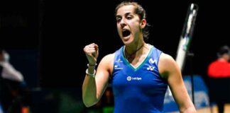 Carolina Marín está a sólo un paso de la final del Abierto de Suiza de bádminton. / Foto: Badminton Photo.