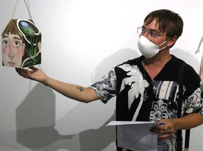 Jose Manuel Lopez Vida, autor de la papeleta./ Jose Manuel Lopez Vidal