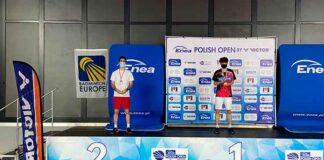 Pablo Abián ha completado un gran torneo en Polonia logrando la segunda plaza. / Foto: @BadmintonESP.