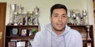 Sillero reconoció que espera jugar más minutos esta temporada. / Foto: Captura imagen Recreativo de Huelva.