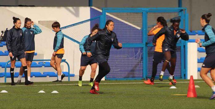 El Sporting Huelva sólo ha tenido dos sesiones de trabajo para preparar el duelo de este domingo ante la UD Granadilla. / Foto: @sportinghuelva.