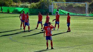 Decisivo partido para el Aroche este domingo en el campo del Torreblanca. / Foto: Sergio Lobo.