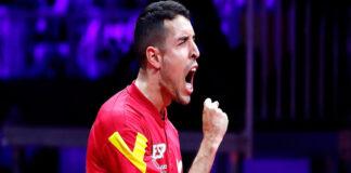 Álvaro Robles tenis de mesa
