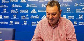 Carlos Pouso, entrenador del Recre, habló del partido que tiene que disputar su equipo ante El Ejido. / Foto: @recreoficial.