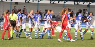 El Sporting de Huelva regresa a la competición tras el parón por los compromisos de las selecciones nacionales. / Foto: @sportinghuelva.