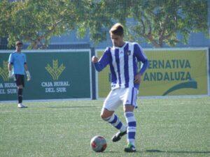 José Domínguez estuvo siete años en las categorías inferiores del Recreativo de Huelva
