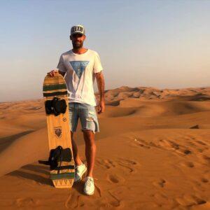 Tras terminar la temporada, José Domínguez se encuentra en Dubai de vacaciones